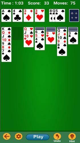 Основные правила игры в пасьянс косынка (англ. klondike) онлайн для двух уровней сложности.
