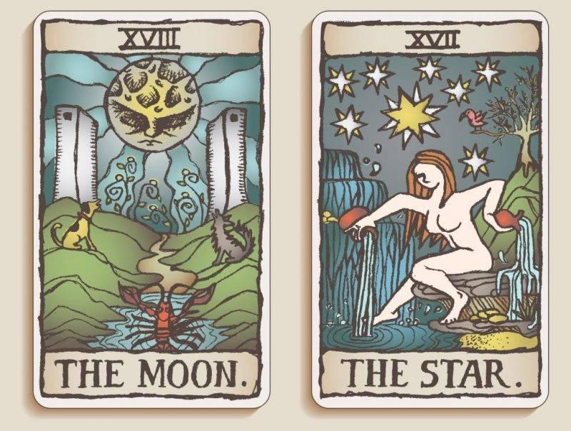 Таро солнце в сочетании с другими картами: мир, колесо фортуны, суд, маг