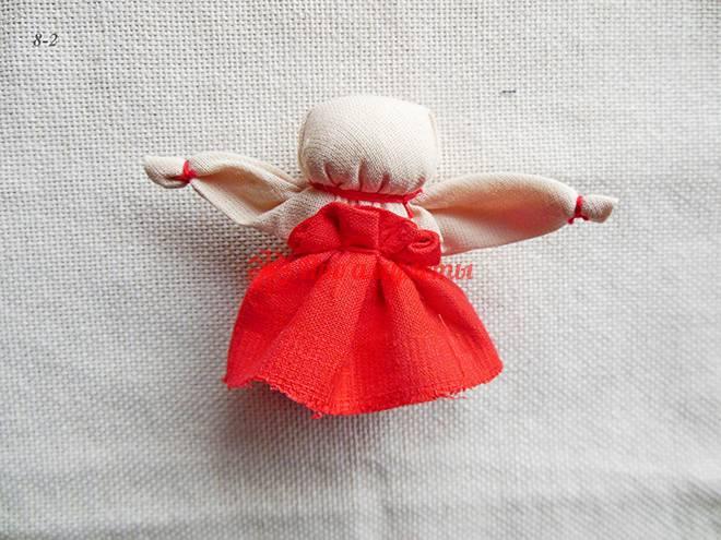 Кукла неразлучники: оберег своими руками | мастер класс пошагово