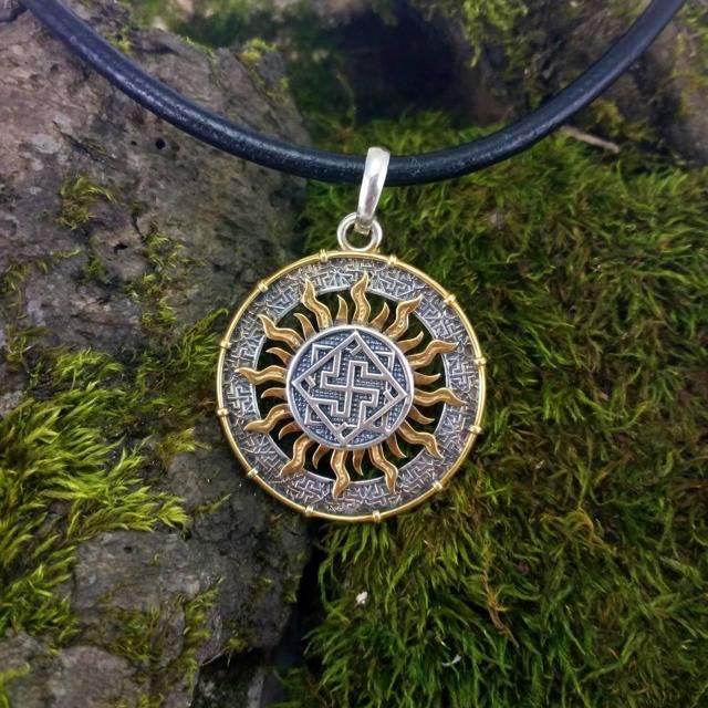 Символ солнца — славянский даждьбог. что это за божество и какое значение имеет амулет с его знаком?