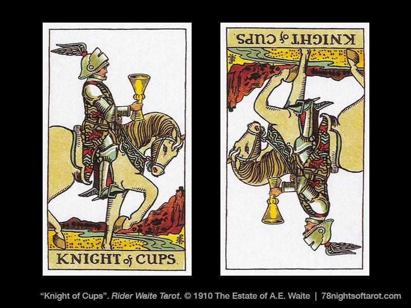 Рыцарь кубков таро: значение и сочетание с другими картами