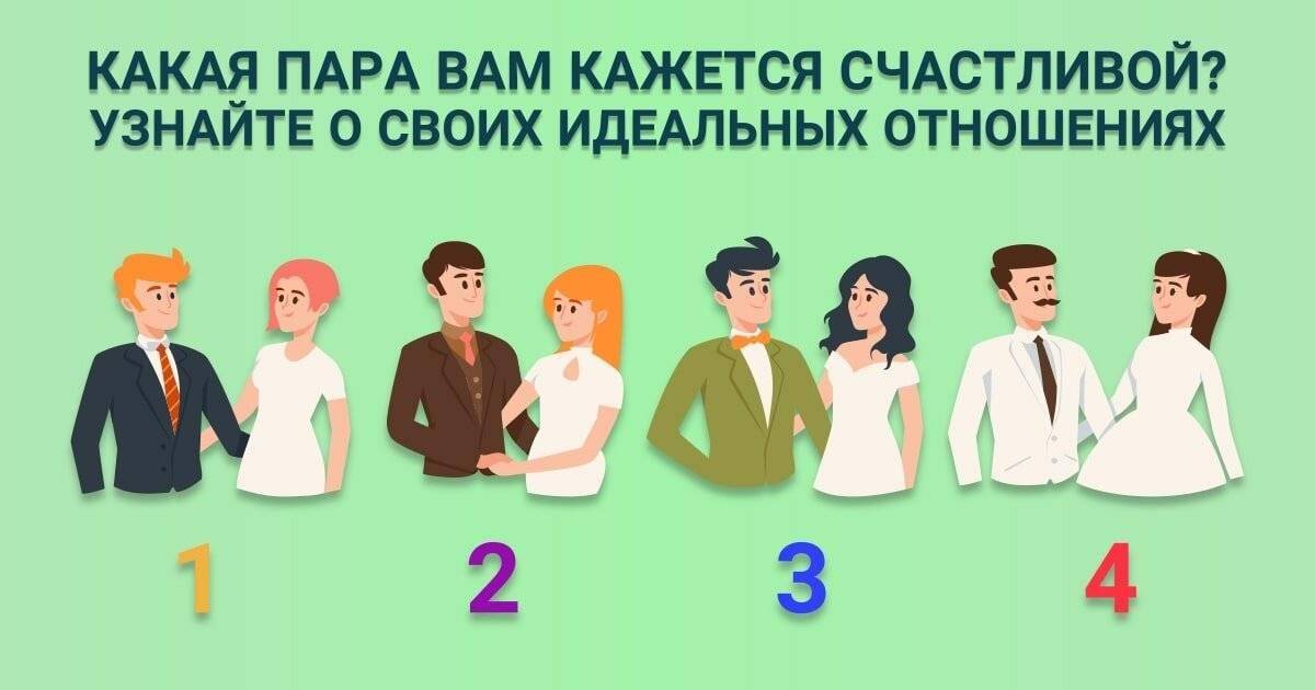 Тест какие мужчины тебе нравятся