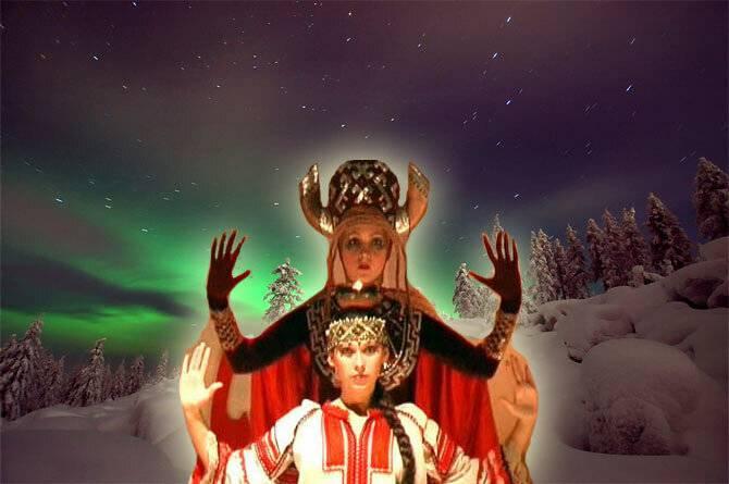 Дни зимнего солнцеворота у древних славян. праздник коляды