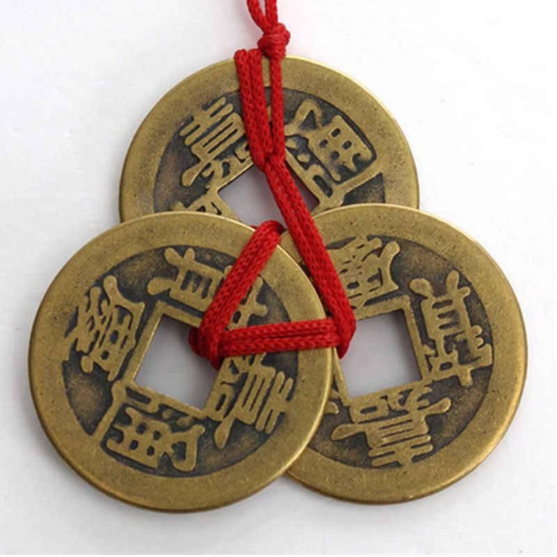 Использование китайских монет согласно древнему учению