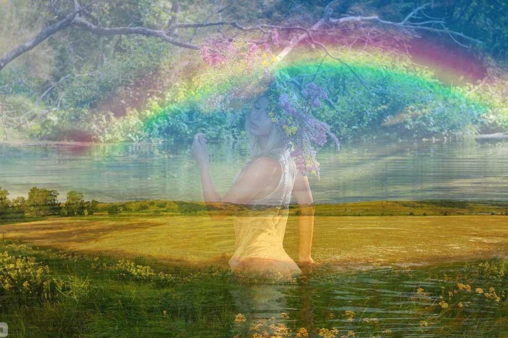 Примета: увидеть радугу двойную, обычную в разное время года