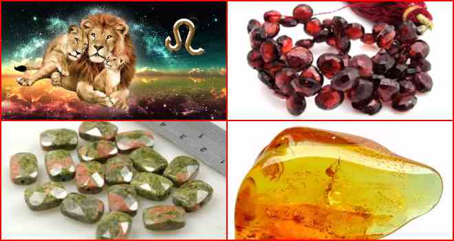 Камни, подходящие мужчинам львам: по гороскопу и дате рождения