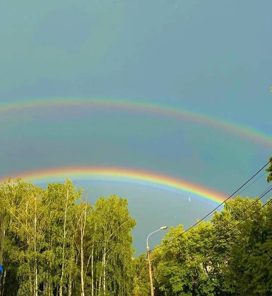 Увидеть радугу – хорошая примета или просто необычное природное явление?