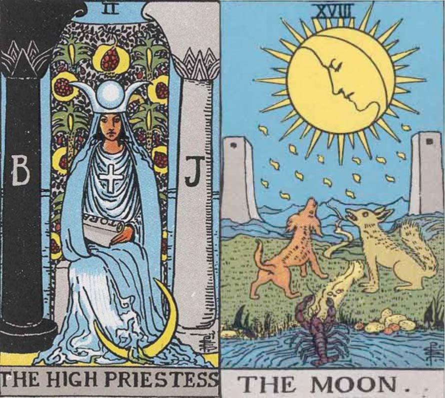 Луна таро – значение и толкование | гороскопы 365