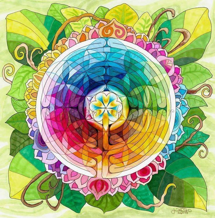 Осуществить ваши желания поможет мандала цветок жизни