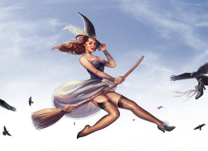 Метла ведьма