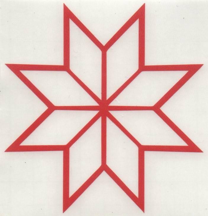 Восьмиконечная звезда в православии