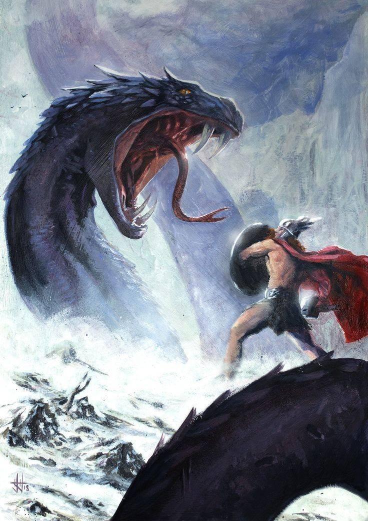 Ёрмунганд — мировой змей