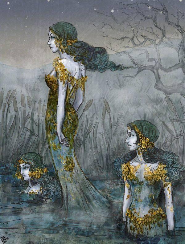 Мифология и фольклор народов западной европы | bestiary.us