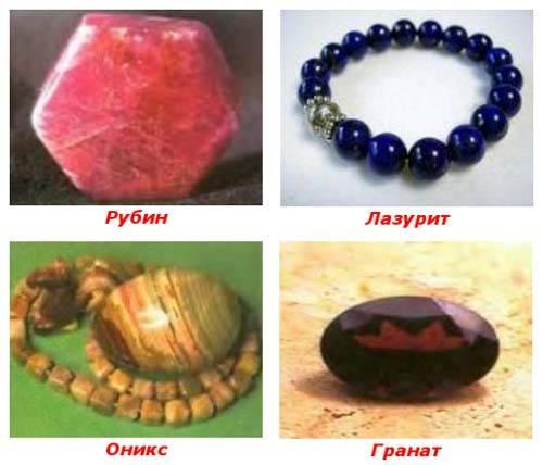 Камень гранат и его свойства