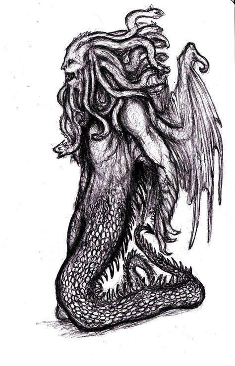 Кто такая ехидна: мифология, происхождение, значение :: syl.ru