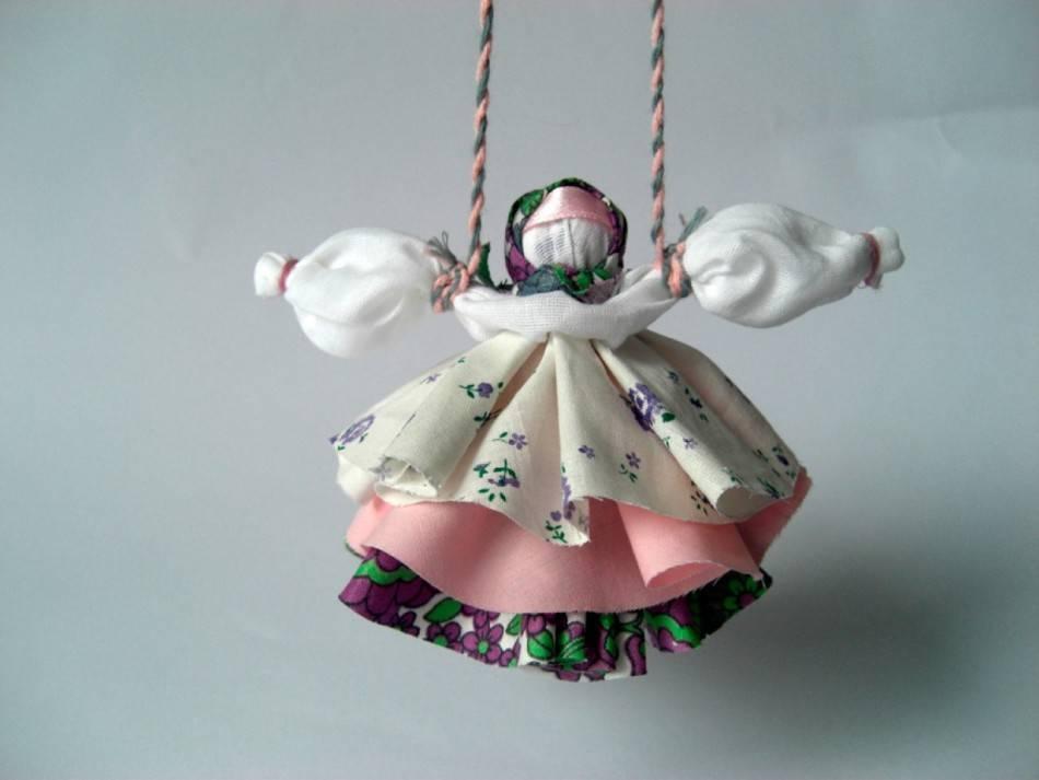Оберег кукла колокольчик: мастер класс изготовления своими руками