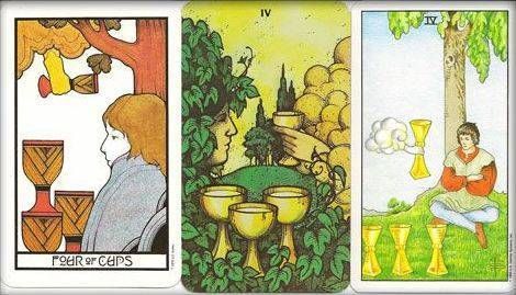 10 (деcятка) кубков (чаш) таро: значение по таро райдера-уэйта