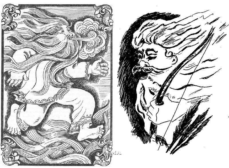 Стрибог — бог славян, повелевающий ветрами и погодой