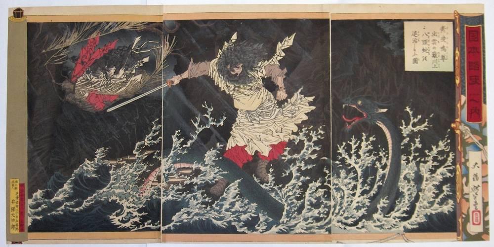 Праздники с драконами японии