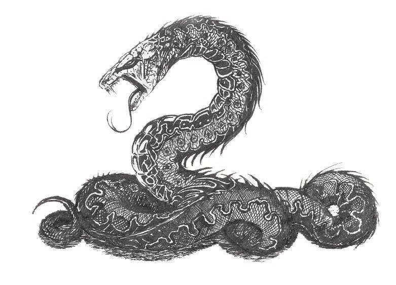Уроборос: змея, кусающяя себя за хвост. значение символа и тату