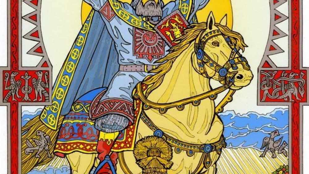 Тарх даждьбог перунович бог солнца у славяно-ариев