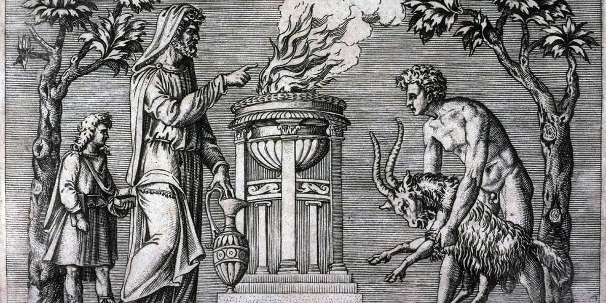 Эринии - богини мести рождённые из крови урана
