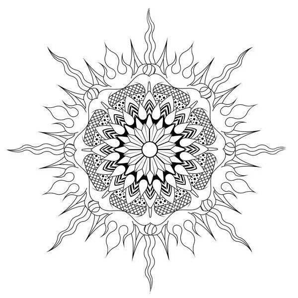 Мандала гармонии и спокойствия: в поисках золотого сечения