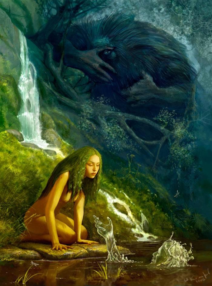 Наяды — обитательницы пресных водоемов древней греции