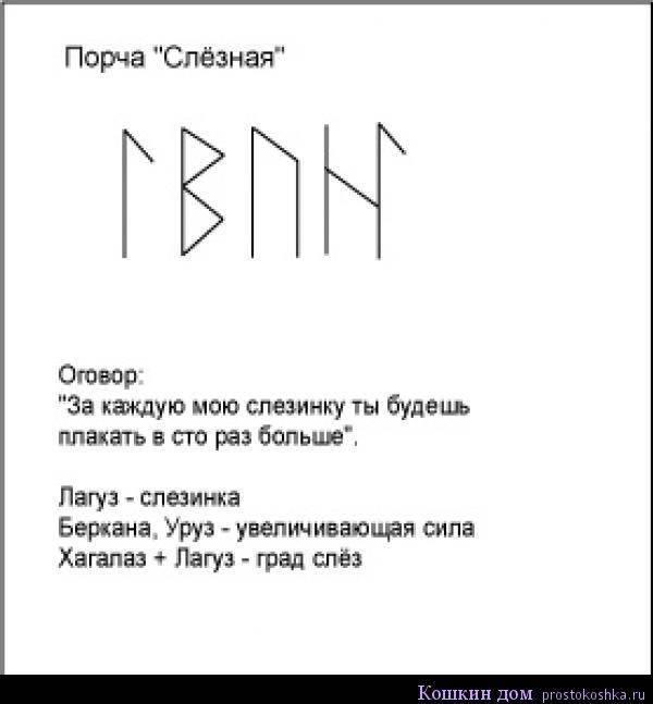 Рунический став «Рассорка»