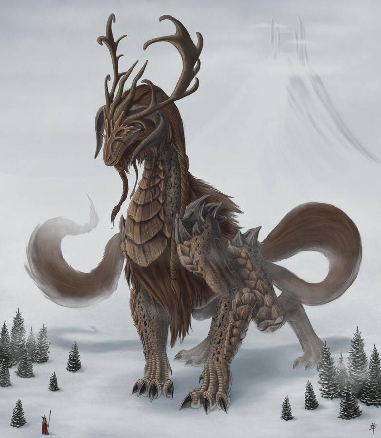 Драконы в фольклоре разных народов мира | исторический документ