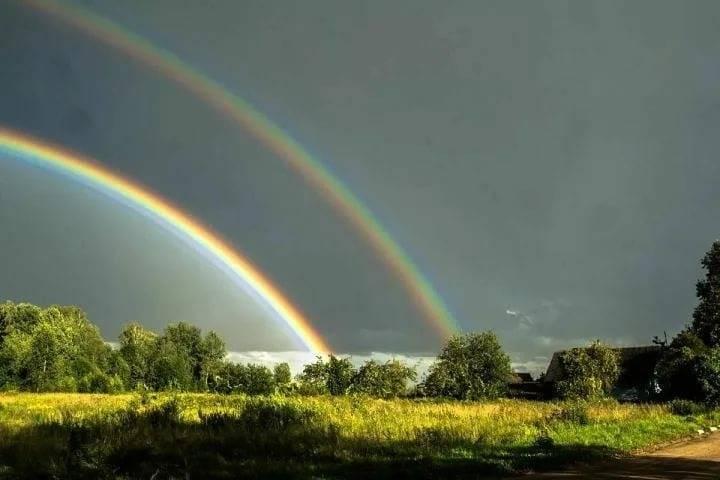 Что означают приметы о радуге - к чему увидеть на небе одинарную и двойную, вокруг солнца и др