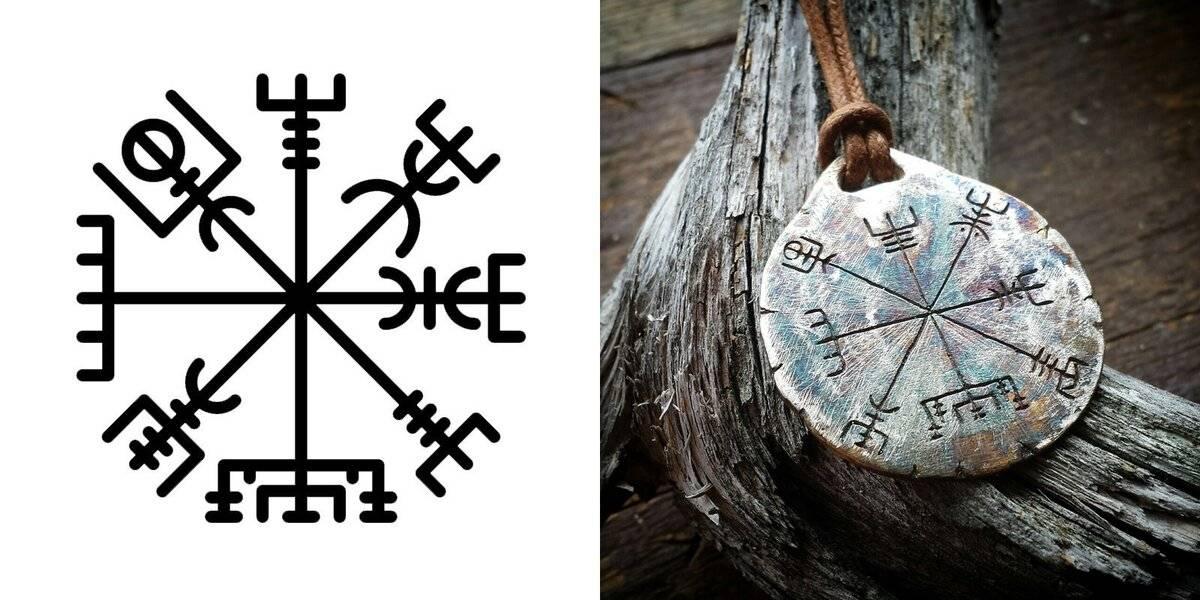 Рунический компас: значение для мужчин и женжин, тату с вегвизиром и их искизы