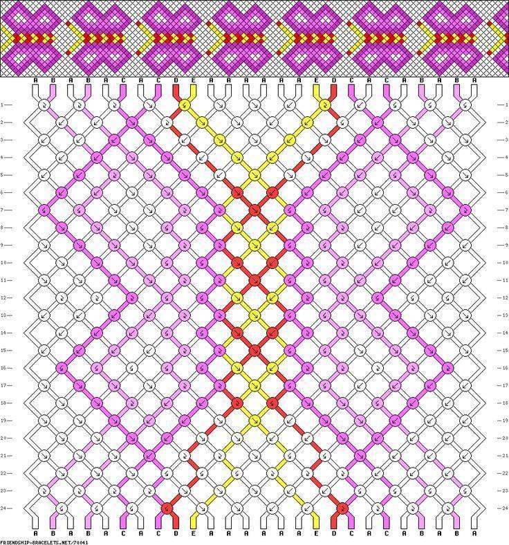 Плетение оригинальных фенечек из ниток мулине своими руками
