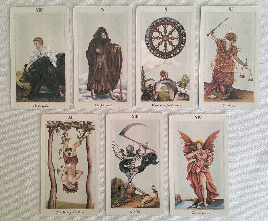 Галерея колоды таро белой и черной магии - помощник удачи