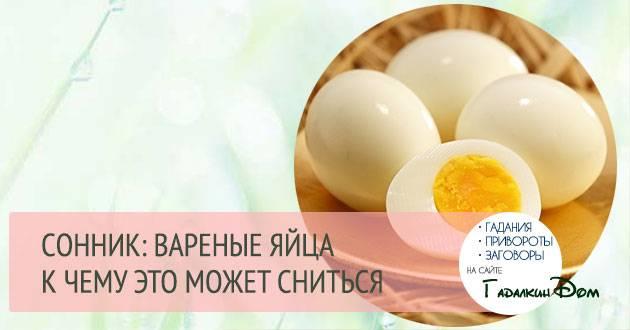 К чему снятся яйца - значение сна яйца по соннику