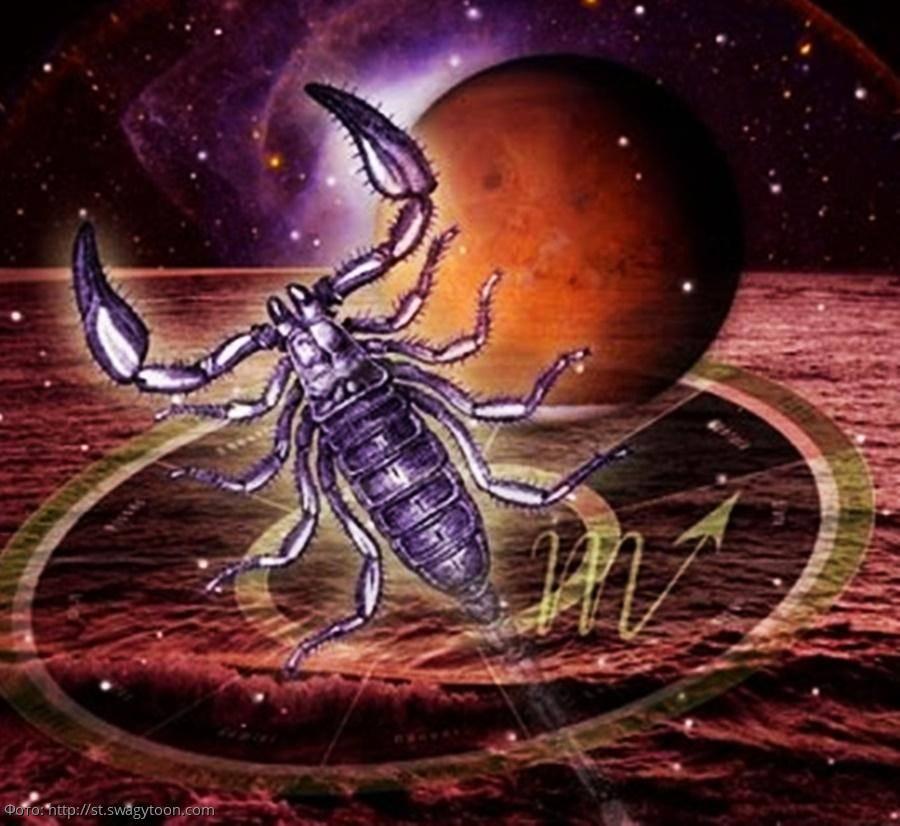 Скорпион знак зодиака планета камень
