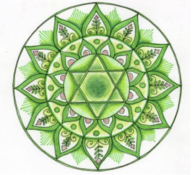 Мандала гармонии и спокойствия, как нарисовать и сплести из ниток