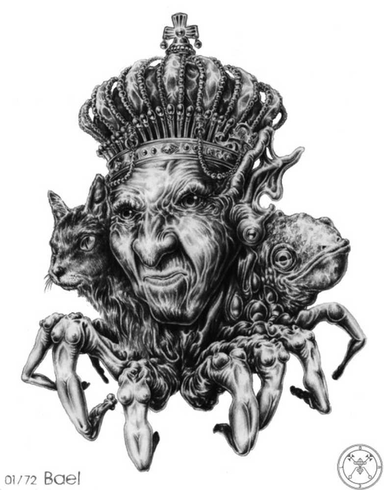 Гоэтия — краткое описание 72 демонов