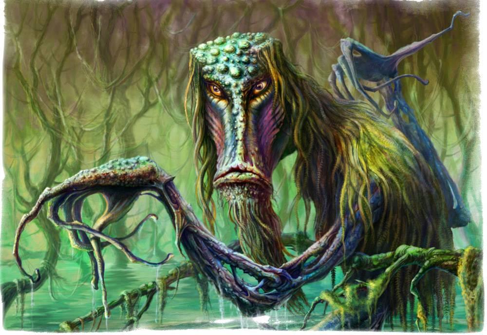 Существование болотной шишиги