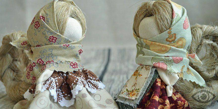 Кукла оберег на счастье | славяне