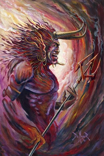 Демонология - кто такие демоны астарот, бегемот, абаддон, сатана, левиафан, мамона, лярва, бельфегор и асмодей