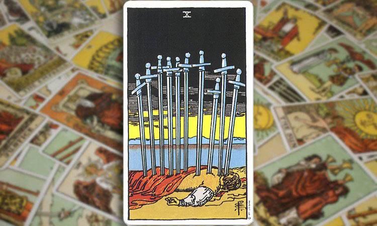Десятка мечей - толкование и значение карты таро