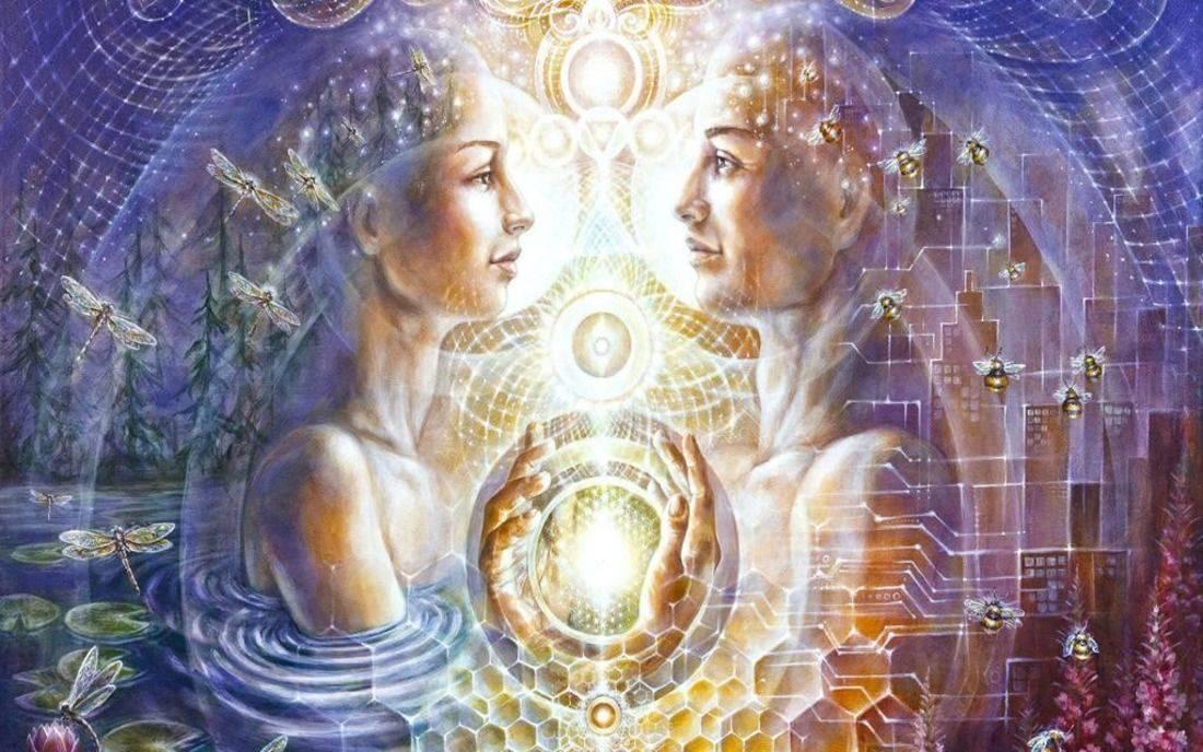 Вечность в любви. близнецовое плам