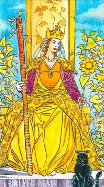 Значение королевы жезлов: как трактовать в сочетания в таро