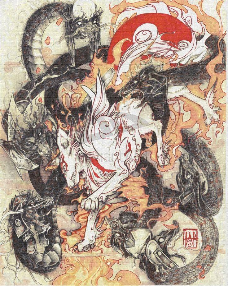 Японские драконы: Ямата но ороти