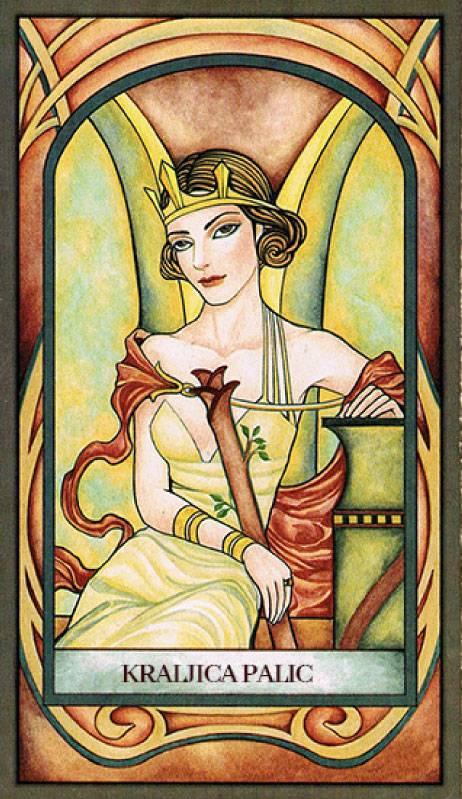 Королева жезлов таро: значение в отношениях, любви, в работе