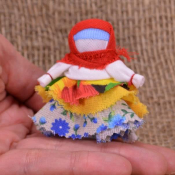 Кукла-оберег колокольчик своими руками