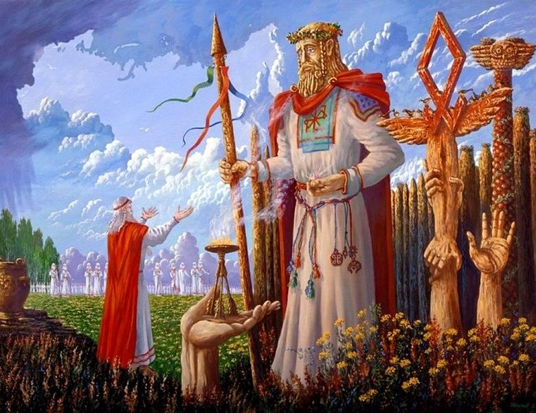 Славянские боги и их древние дети: значение на руси пантеона божеств языческой мифологии, в числе которых перун, сварог, семаргл, род, велес, ярило (солнце)