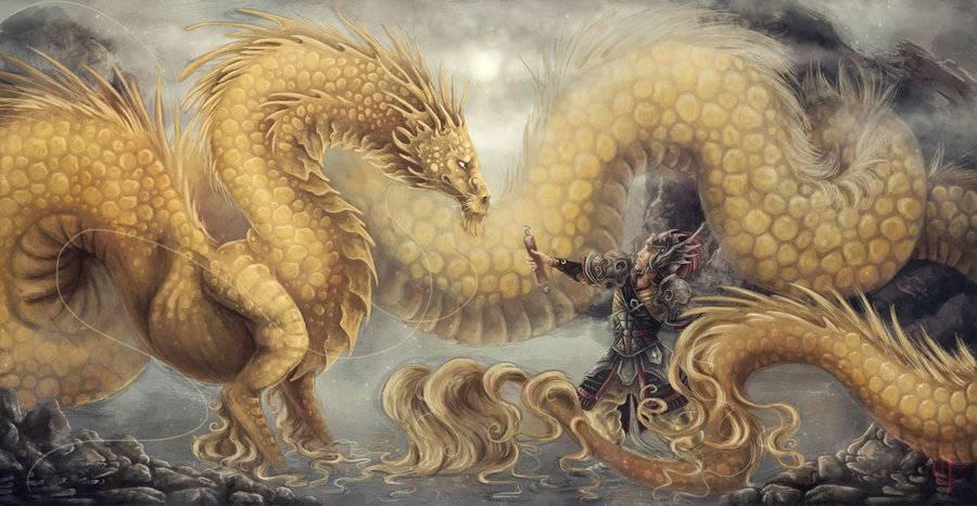 Дракон - самый могущественный талисман для привлечения удачи во всем