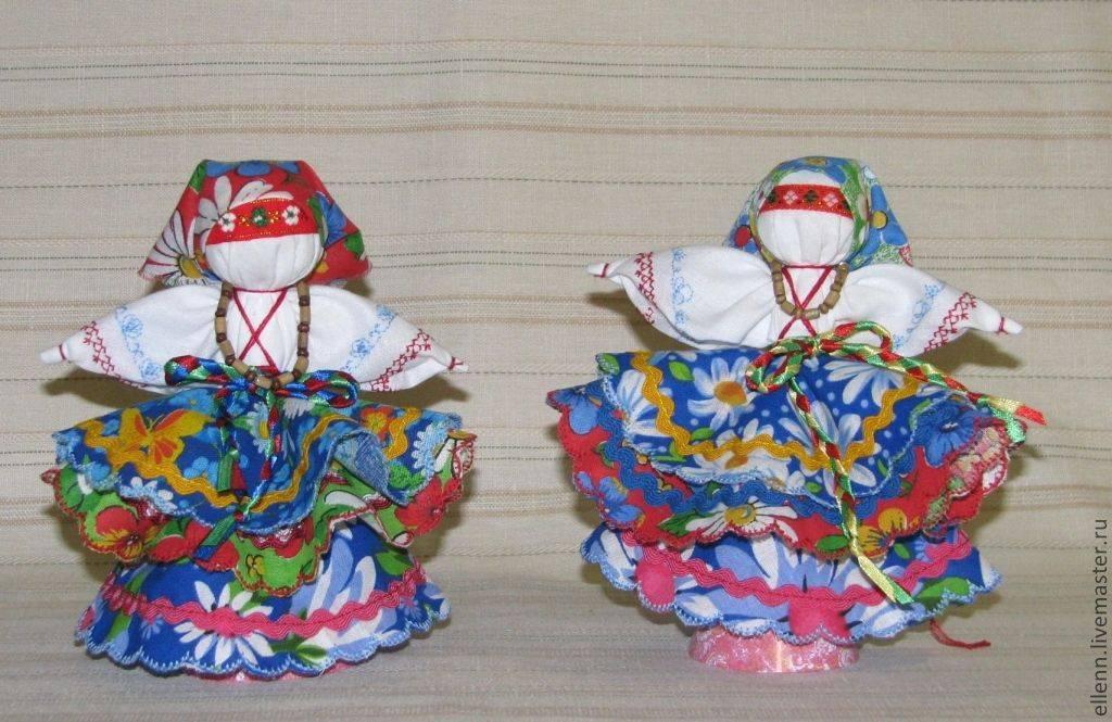Мастер-класс для воспитателей «народная кукла как средство приобщения к народной культуре. тряпичная кукла «колокольчик»